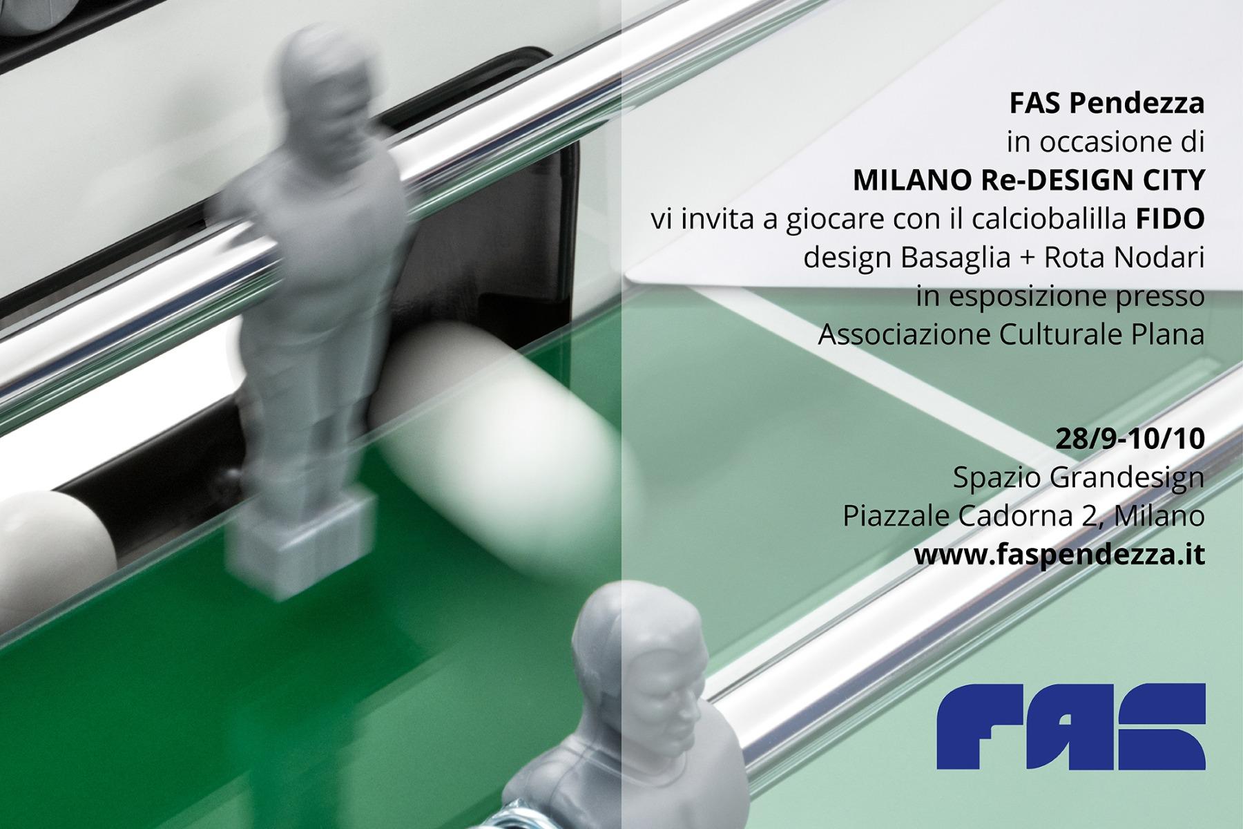 Fas Pendezza @ MILANO Re-DESIGN CITY