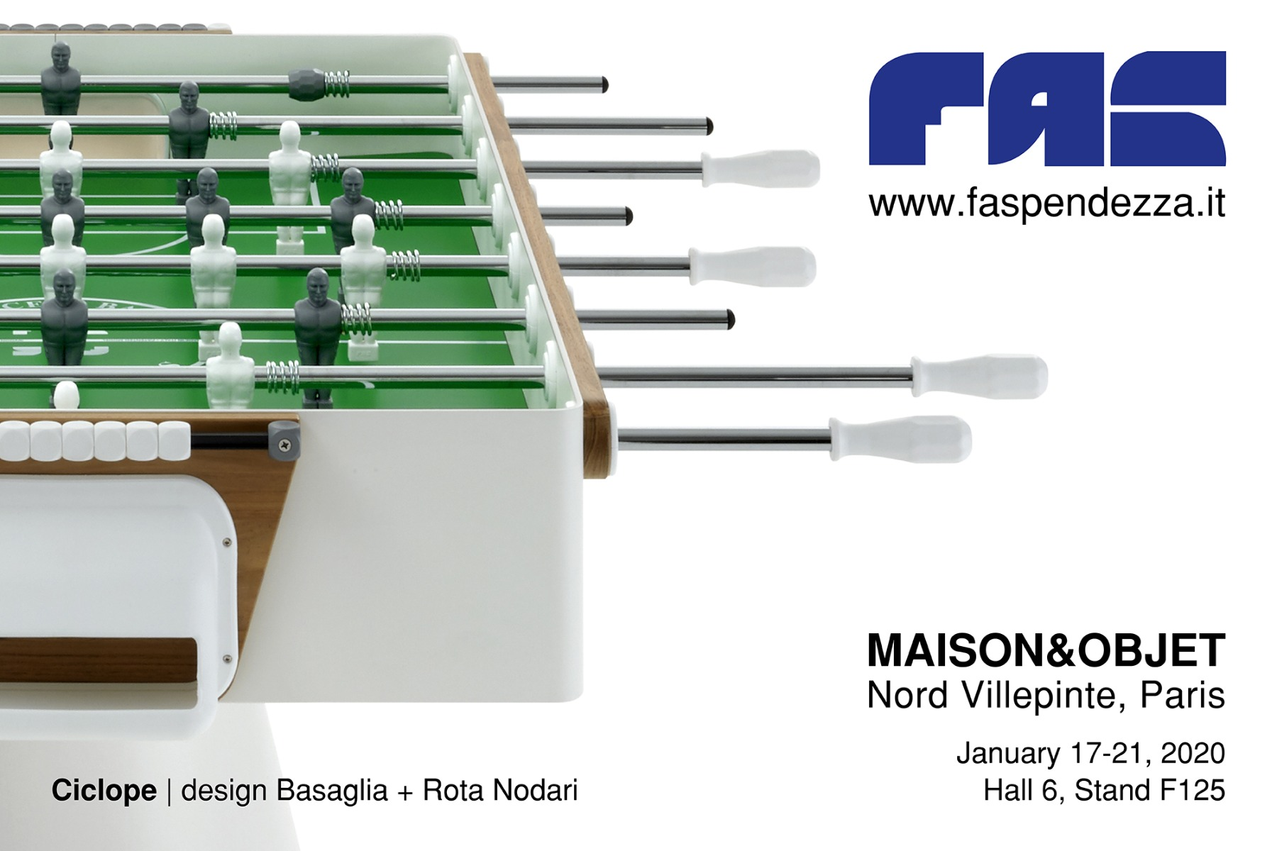 SAVE THE DATE: FAS Pendezza @ Maison&Objet 2020