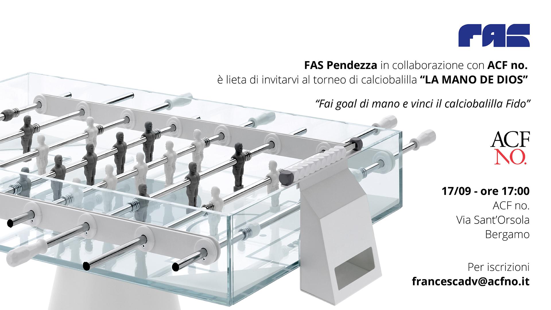 FAS Pendezza @ ACF no