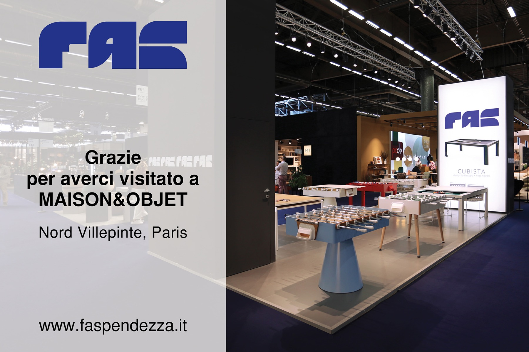 Fas Pendezza @ Maison&Objet - Parigi 2019