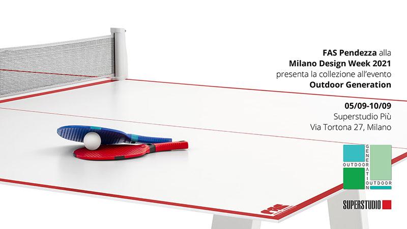 FAS Pendezza @ Milano Design Week